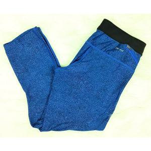 Nike Dri-Fit Printed Athletic Capri Legging Pants